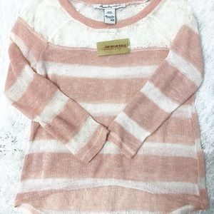 American Rag Knit Lace Sweater! 🌸NWT